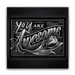 Persoonlijk Kaartje - You are Awesome
